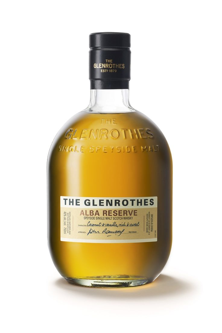 typethatilike:  Glenrothes Whiskey blackburnsdesign.com