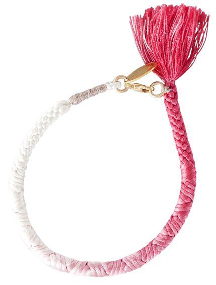 Happy Silk Vintage bracelet | Elle Sweden