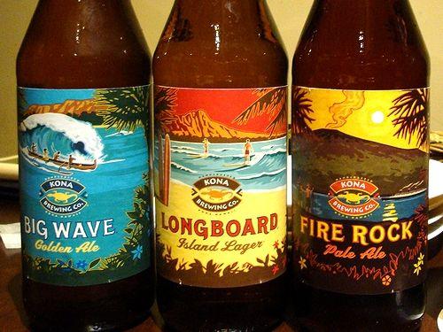 ハワイのコナビール。