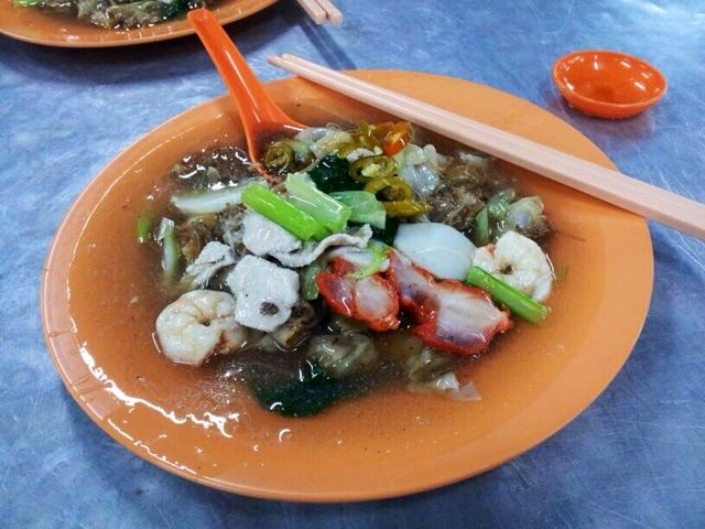 The Flavoursome Journey: Char Hor Fan ( Flat-Wide Rice Noodles in Gravy). One of my favourite food! I love this <3. A must eat when you travel North Malaysia.