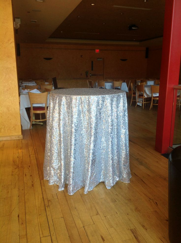 120 silver sequin tablecloth linen rentals palace for 120 table cloth rental