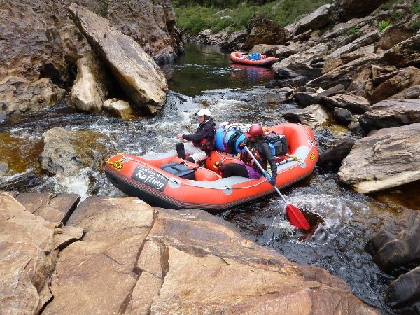 10-day Whitewater Rafting and Frenchmans Cap Wilderness Expedition with Franklin River Rafting. Article and photo by Kerrie Dodson for Think Tasmania.