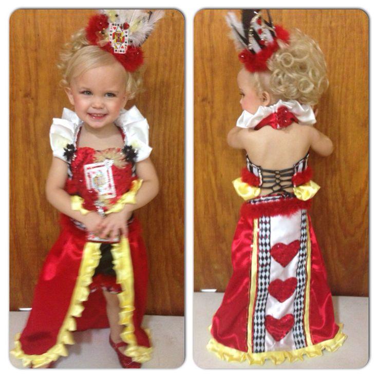 Glitz Queen of Hearts Pageant Valentine Wear