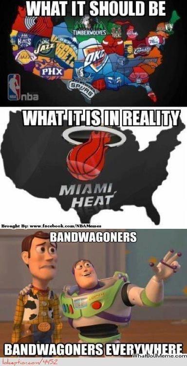 NBA vs. Miami Heat Fanbase! - http://hoopsternation.com/nba-vs-miami-heat-fanbase/