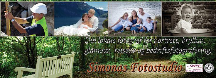 Simonas Fotostudio, Din lokale fotograf for portrett, bryllup, reiseliv og bedriftsfotografering.