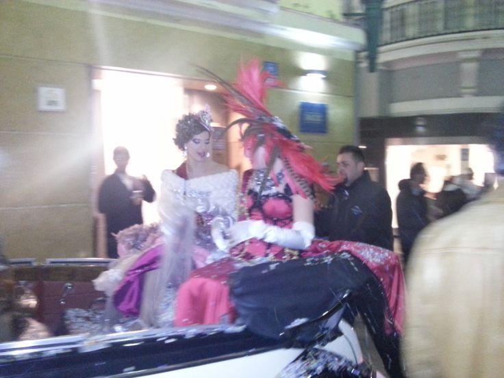 Las ninfas del Carnaval