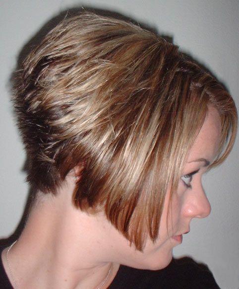 Back View Of Stacked Bob Haircut Photos Hairxstatic