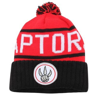 Toronto Raptors Knit Hat - Preferably Red