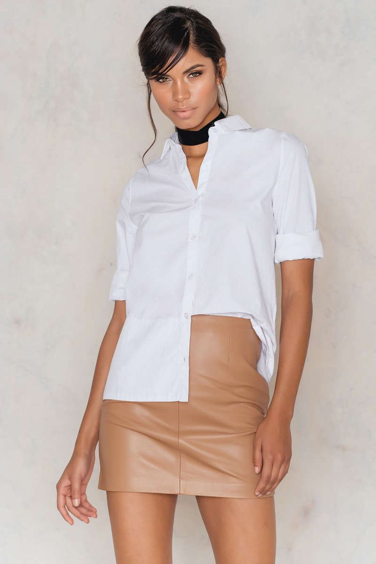 Ivy Leather Skirt
