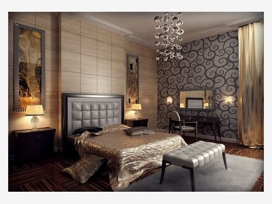 Interior Picturesque Inspirational Art Deco Bedroom Design With Lamp Ideas And Wood Floor Awesome