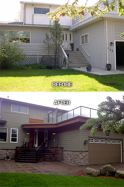 42 best Beautiful Before After images on Pinterest Exterior