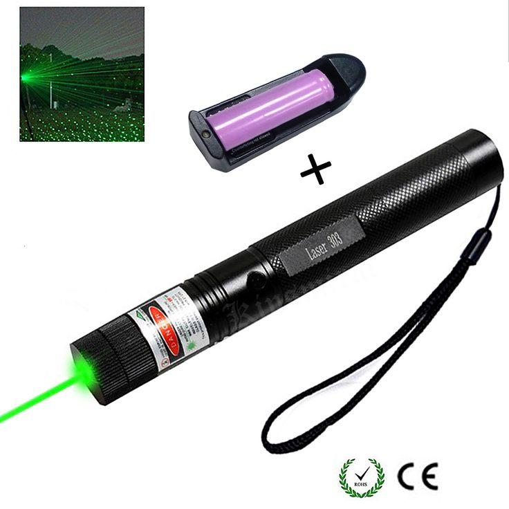Puntero Láser verde 10000 m Foco Ajustable Puntero Láser pluma Lazer Luz con Llave de Seguridad con Cielo estrellas Cap