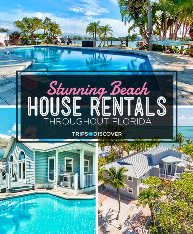 15 Stunning Beach House Rentals Throughout Florida Tripstodiscover Beach House Rental Florida Beach House Rentals Florida Vacation Spots