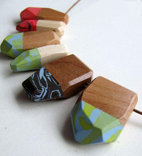 Daily Art Inspiration 2/23/10-Polymer and Wood   by Lynn_EL/UnaOdd
