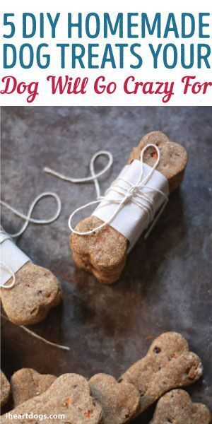 5 Homemade Dog Treats That Your Dog Will Go Crazy For