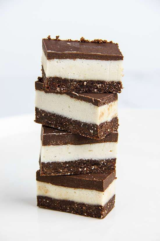 Raw Chocolate Peppermint Slice | Ascension Kitchen