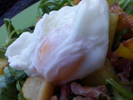 Oeuf poché inratable (cuisson au micro ondes)