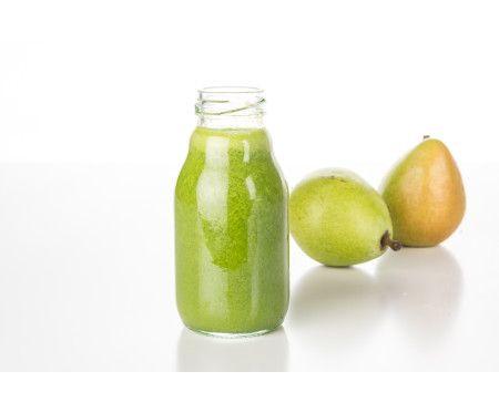 Färskpressad päron- & äpplejuice