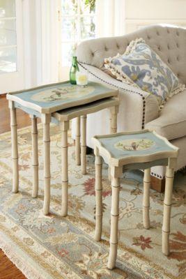 Audubon Nesting Tables From Soft Surroundings. Furniture .