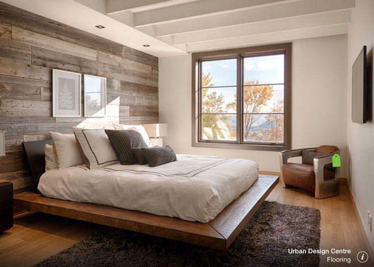 Achterwand slaapkamer