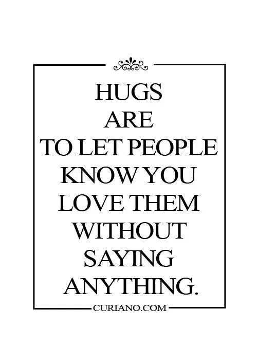 I'm a very huggie person. My kids, friends, family ! But ! If I do not know you ? Don't even think about it lol
