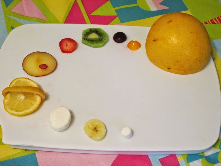 solar system fruit tray snack - fun recipes for kids with a space theme - www.walkinthesunshineblog.blogspot.com