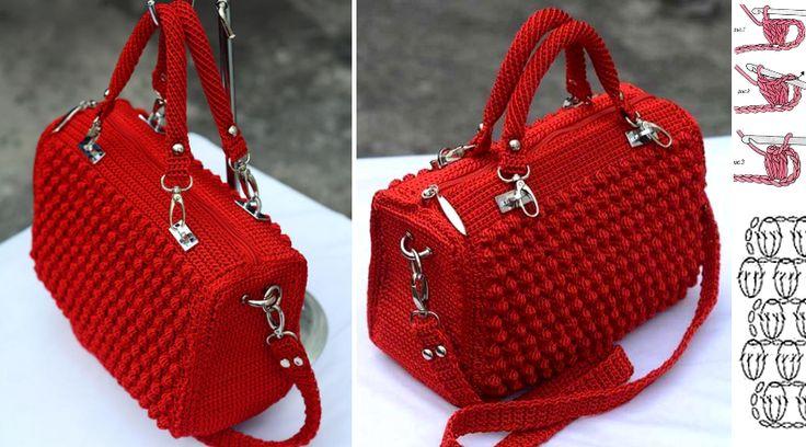 Très élégant et beau, ce sac en crochet. Voir comment faire un sac élégant en crochet tissé. Il est un merveilleux travail au crochet. Sentez-vous libre de choisir les couleurs qui vous plaisent le mieux. Surprenez quelqu'un avec ce sac … Lire la suite... →