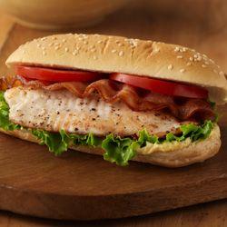 BLT Fish Sandwiches