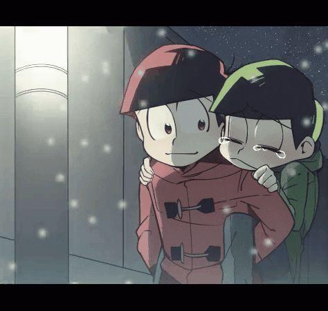 gambar gif, osomatsu san, and osochoro