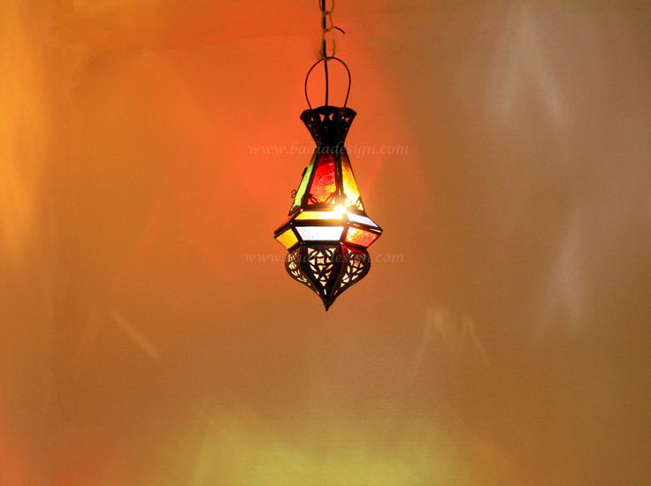 Badia Design Inc Store - Moroccan Lighting Fixture with Multi Color Glass - LIG149, $45.00 (http://www.badiadesign.com/moroccan-lighting-fixture-lig149/)