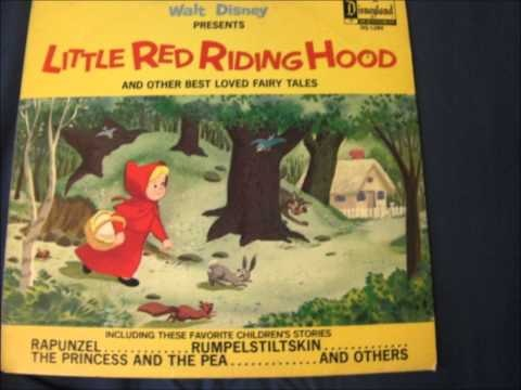 """Disney Fairy Tale Record: """"Little Red Riding Hood"""" (1968) - YouTube"""