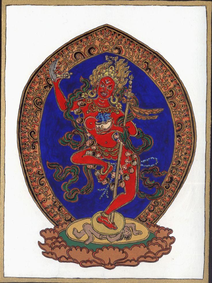 Vajravarahi, 2011 spring, stellium in Aries