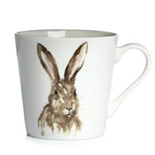 Pass the biccies...Enjoy the perfect brew with this gorgeous hare mug from the…
