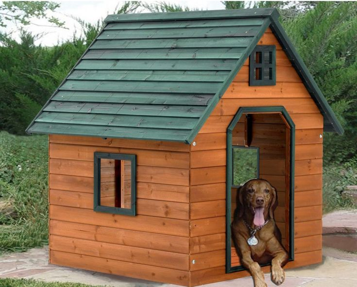 insulated dog house plans - Google Search                                                                                                                                                                                 More