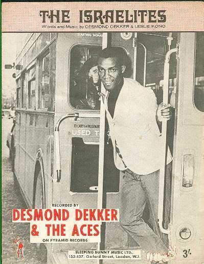 Desmond Dekker on a Double Decker! In HEngland! - Desmond Dekker was on at the Milton Keynes Bowl in 1979 - (Bowl had just opened)