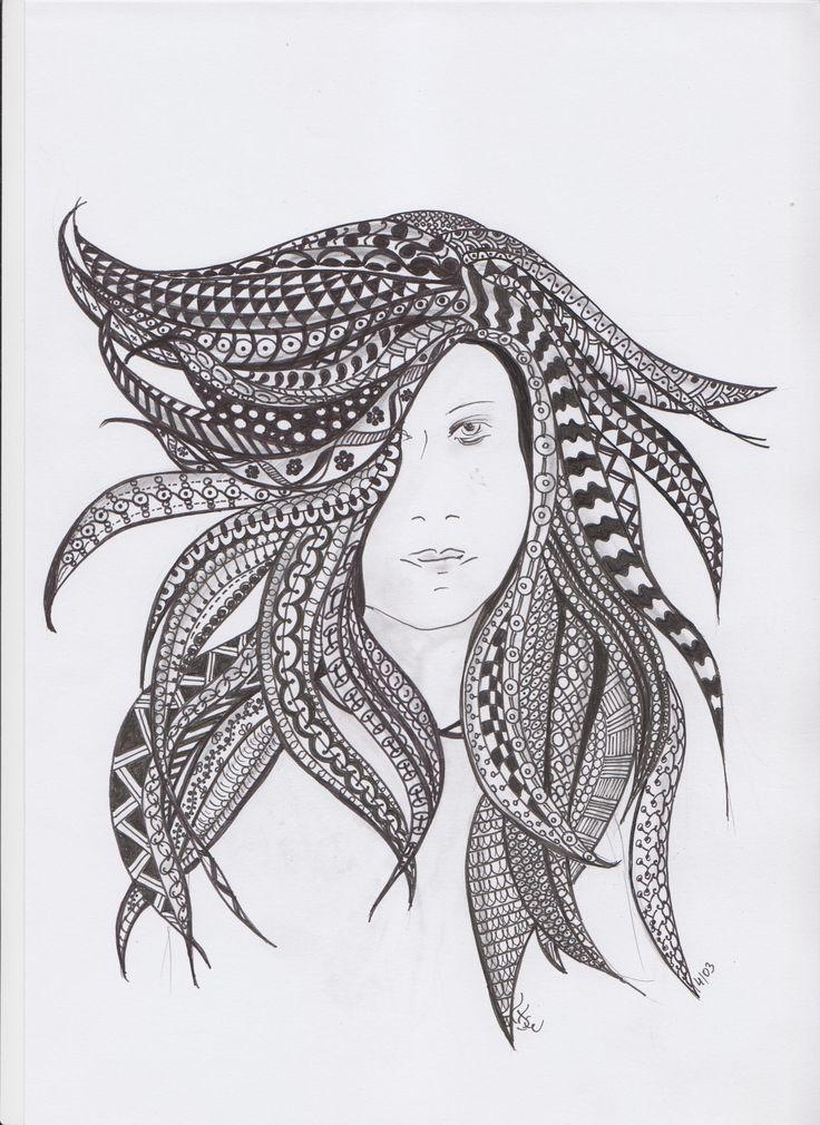 hosszú hajú