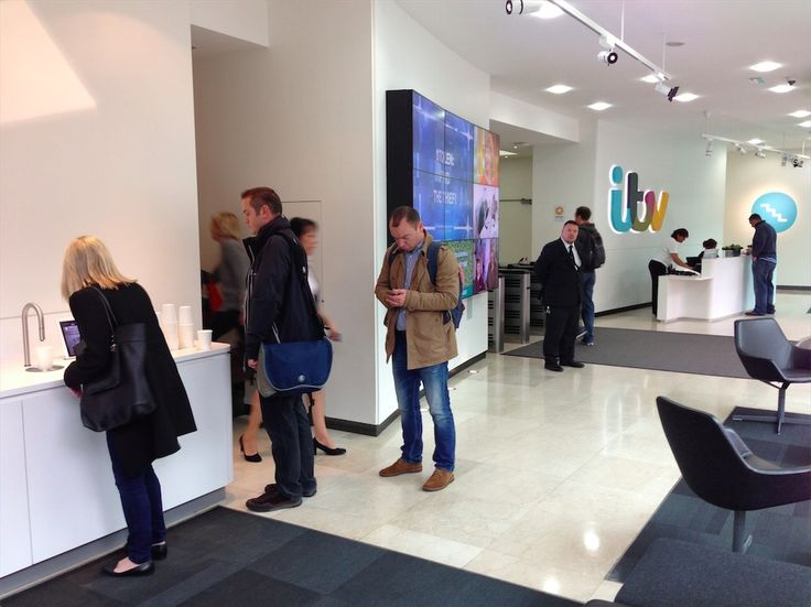 ITV reception rebrand   London   Case Study http://scanomat.co.uk/uk/case-studies/workplace/media/itv