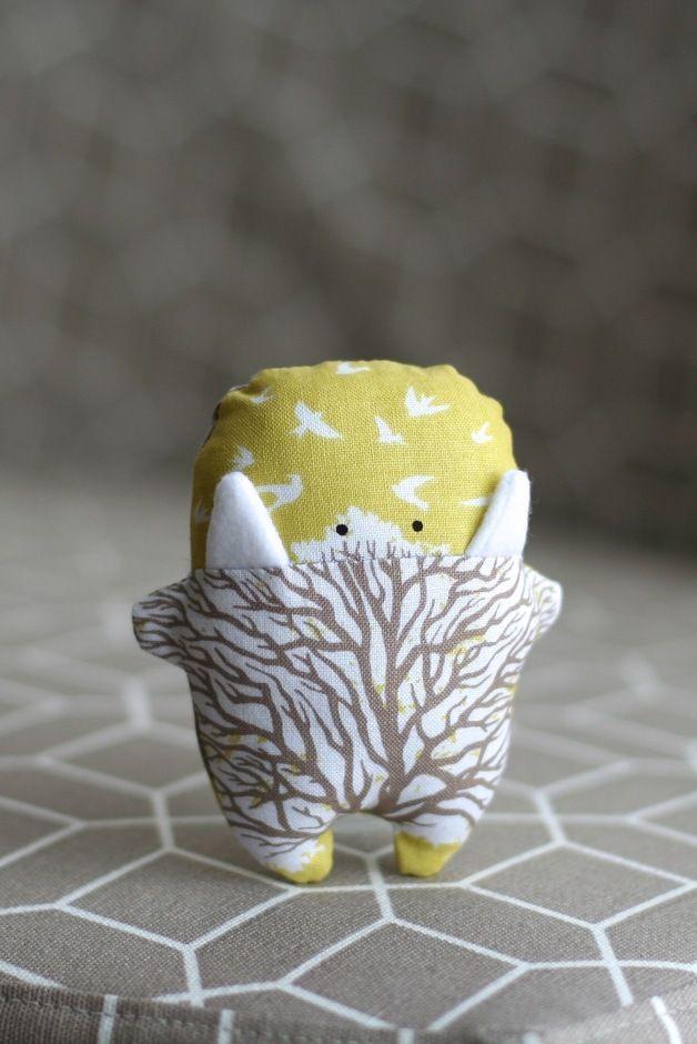 Glücksbringer Monster / lucky charm monster by entFant design via DaWanda.com