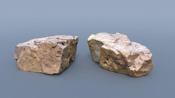 Rocks, Emmanuel Humbert on ArtStation at https://www.artstation.com/artwork/JZD8D