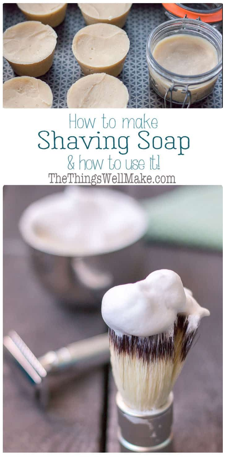 Diy Shaving Soap Recipe How To Use Shave