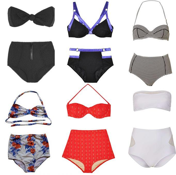 Swimsuits 2013 high waist
