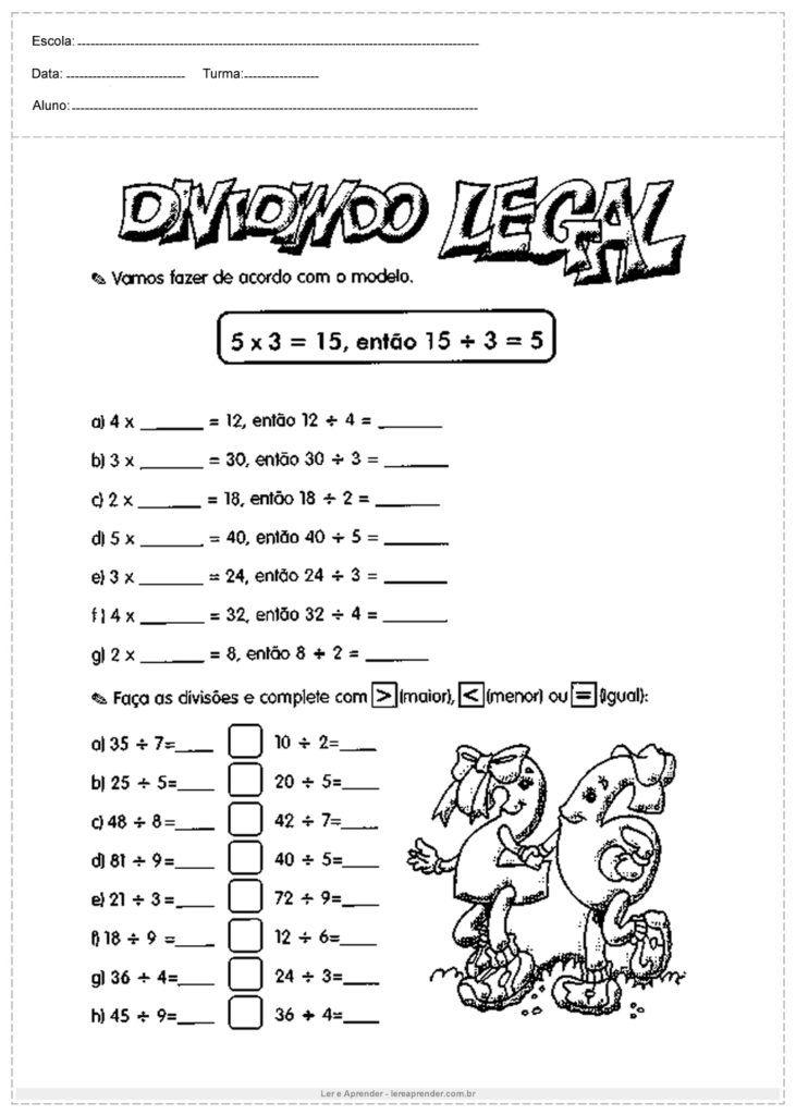 Pin Em Atividade De Matematica Do 3º Ano