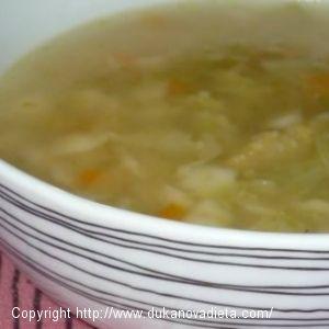 Mäsová polievka s drobeničkou