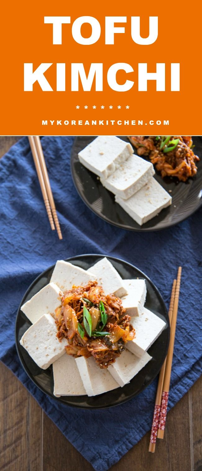 39 best korean food recipes images on pinterest korean food easy tofu kimchi recipe its a popular korean side dish and appetiser tofu forumfinder Image collections