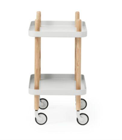 Block trillebord Lysgrå