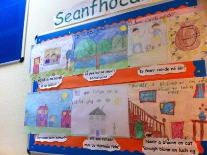 Image result for gaeilge display fifth class