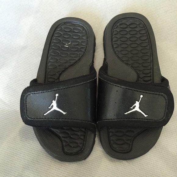 Jordan Hydro II flip flops Black velcro strap Jordan flip-flop Jordan Shoes Flats & Loafers