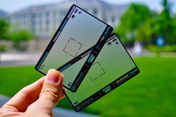 tarjeta de presentacion fotografo