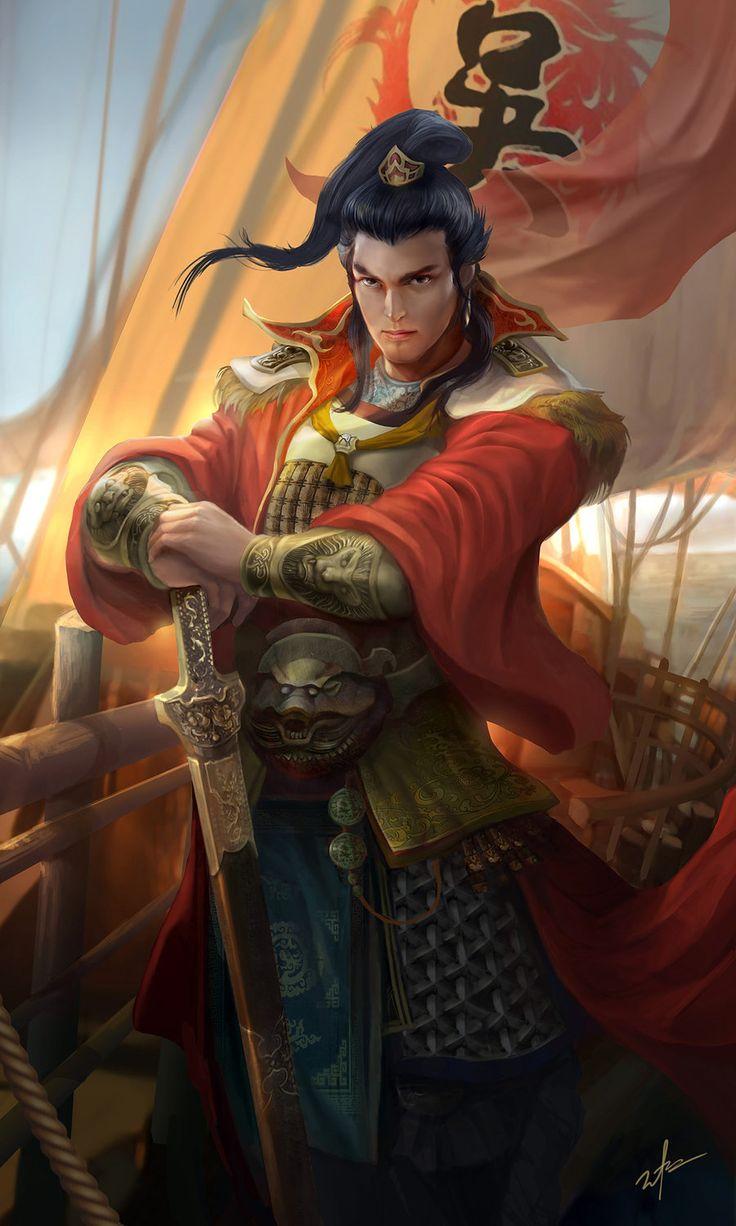 Dynasty warrior - SunQuan by derrickSong.deviantart.com on @DeviantArt