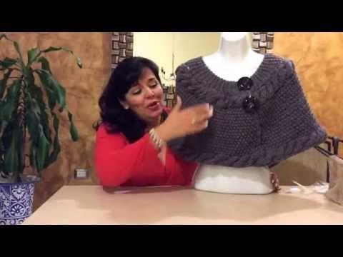 Capita dos Trenzas - Tejiendo con Laura Cepeda - YouTube